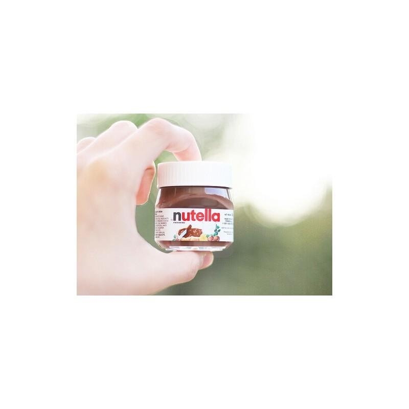 mini pot de nutella le fameux nutella en version mini pour ne pas 234 tre tent 233 e de manger tout