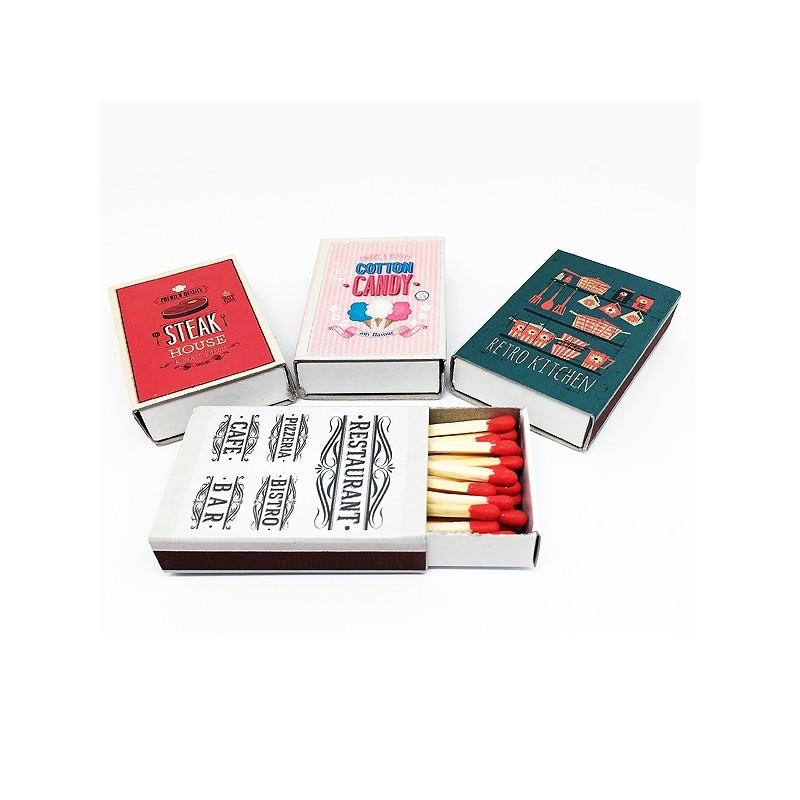 Petite boite d 39 allumettes de d pannage boite de 40 petites - Petite boite allumette a personnaliser ...