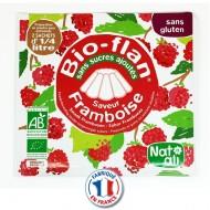 Bio flan NatAli sans sucres ajoutés Parfum Vanille et autres