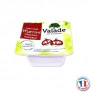 Crème de Marrons Vanillée portion individuelle VALADE 30gr