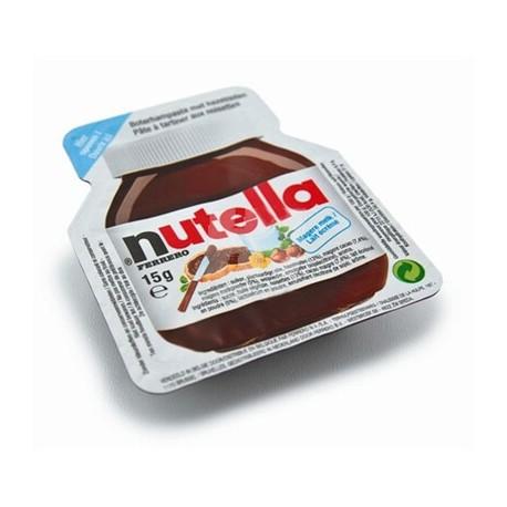Barquette De Nutella 15g Dose Individuelle Pate A Tartiner Aux Noisettes Et Au Cacao