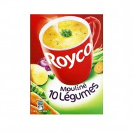 Royco Soupe Mouliné 10 légumes en sachet individuel