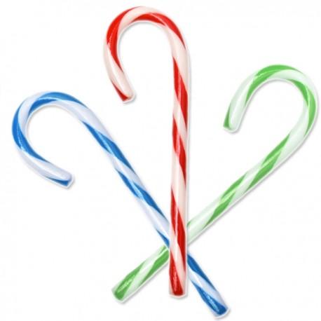 Fizzy Candy Canne de Noël aromatisée 3 parfums