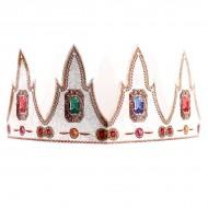 Couronne royale en carton galette des rois