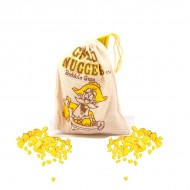Sac de pépites d'or chewing-gum Gold Nuggets Bubble Gum