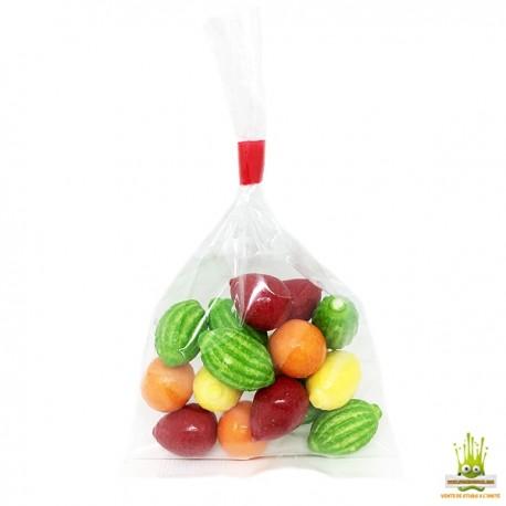 FINI Macédoine de fruits bubble gum Sachet 100gr.
