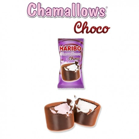 Chamallows Chocolat HARIBO Sachet individuel