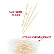 Cure-Dents en Bois Premium de qualité