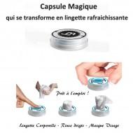 Rince-Doigts Magique Lingette en capsule