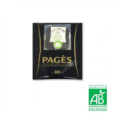 Thé vert Earl Grey Bio PAGÈS
