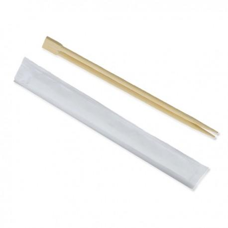 Baguettes Chinoise en bois 20 Cm emballés individuellement