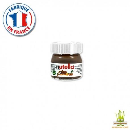 Mini pot de Nutella Ferrero 25gr. à l'unité
