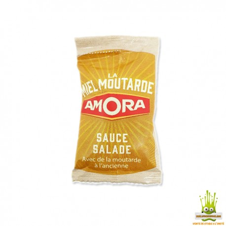Sachet Miel-Moutarde à l'ancienne AMORA dose 30ml