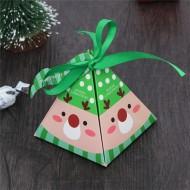 Boîte Pyramide Chocolats Décor Tête de Renne