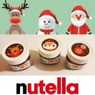 Mini pot Nutella 30gr Edition Noël