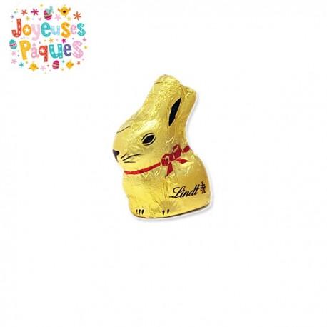 Petit Lapin Lindt Or Chocolat