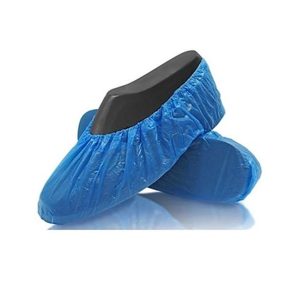 Bleu Non-Toxique Taille Unique 100Pcs Couvre-Bottes de Qualit/é Sup/érieure Mat/ériau Non tiss/é SUIYI Couvre-Chaussures Jetables Surchaussures