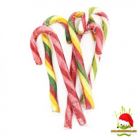 Candy Canne en Sucre Fraise ou Pomme