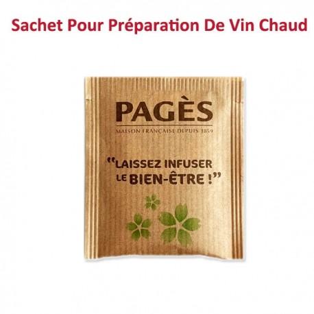 Préparation aromatisée pour Vin chaud Pagès - Sachet individuel