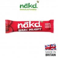 Barre NAKD aux framboise et noix de cajou