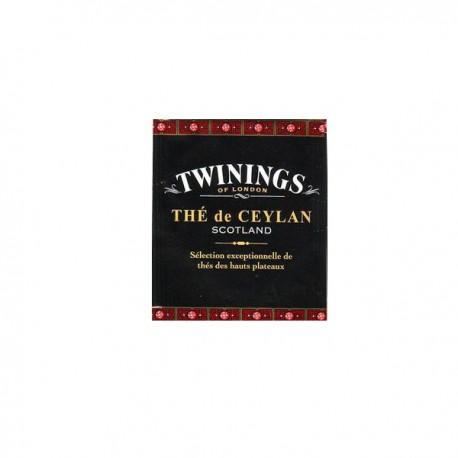 Sachet de Thé Twinings Ceylan Scotland