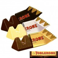 Mini Toblerone Mix LAit, Noir, Blanc