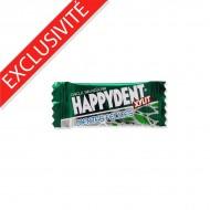 Chewing-gum sans sucre Chlorophylle sachet individuel HappyDent