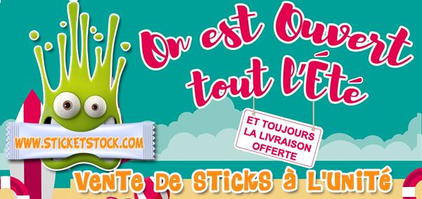Boutique Stick et Stock - Vente de sticks dosettes à l'unité
