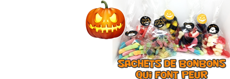 Sachets de bonbons Halloween