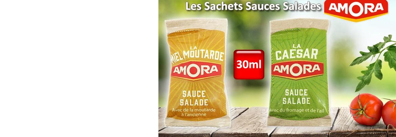 Les Sachets Sauces-Salades AMORA