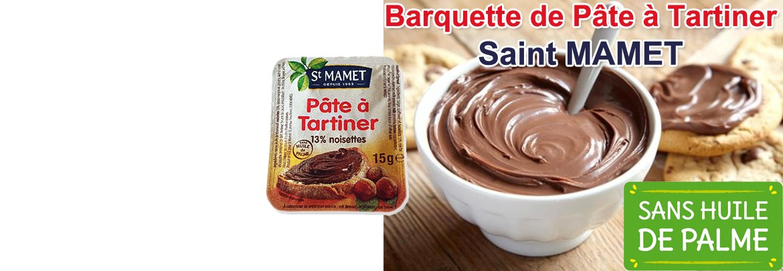 Barquette de Pâte à Tartiner St Mamet