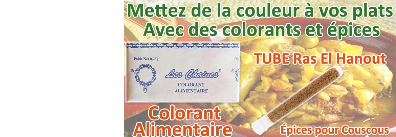 Mettez de la couleur à vos plats !