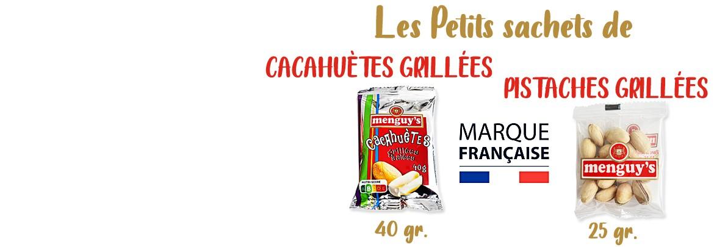 Petits Sachets de Cacahuètes ou Pistaches