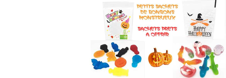Petits Sachets de bonbons HALLOWEEN