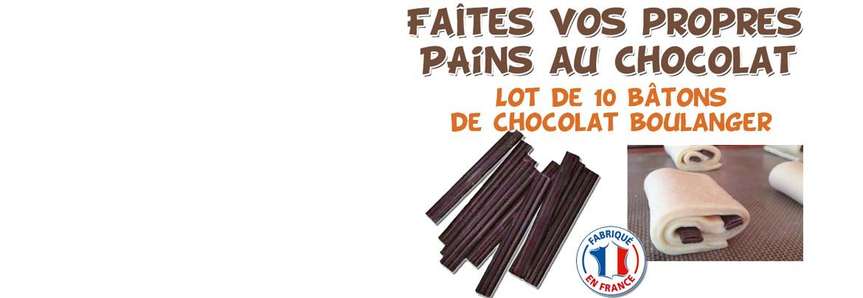 Des Bâtonnets de Chocolat